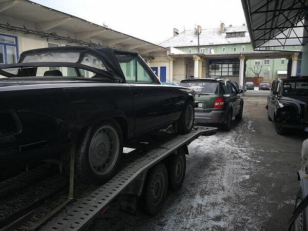 tréleres autószállítás Budapest