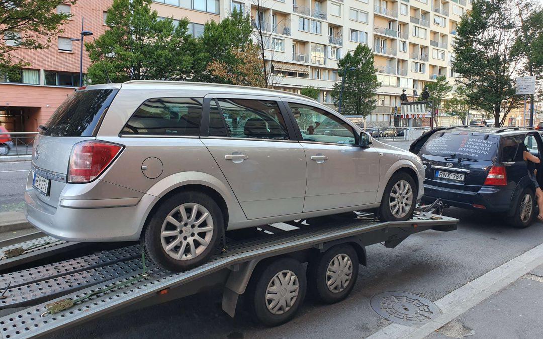 Autómentés Franciaországból