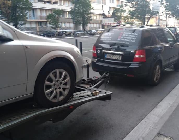 autómentés autószállítás Franciaországból