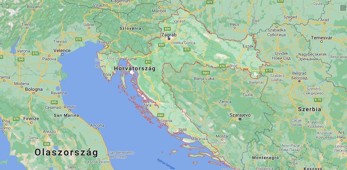 autómentés autószállítás Horvátország